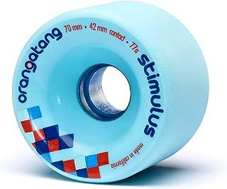 product image for Orangatang Stimulus 70 mm Freeride Longboard Skateboard Wheels (Set of 4)