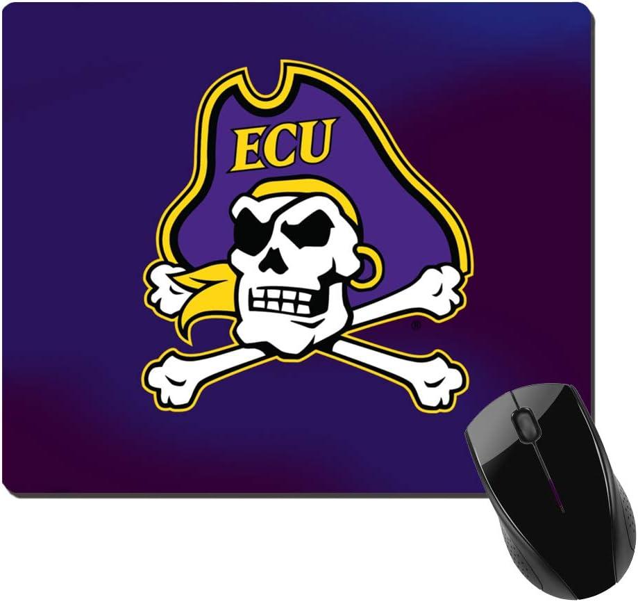 ECU Mousepad East Carolina Pirates State Mouse Pad ECU Gifts for Graduation Women Purple