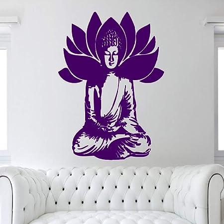 xingbuxin Silueta de la deidad de Buda Tatuajes de Pared Lotus ...