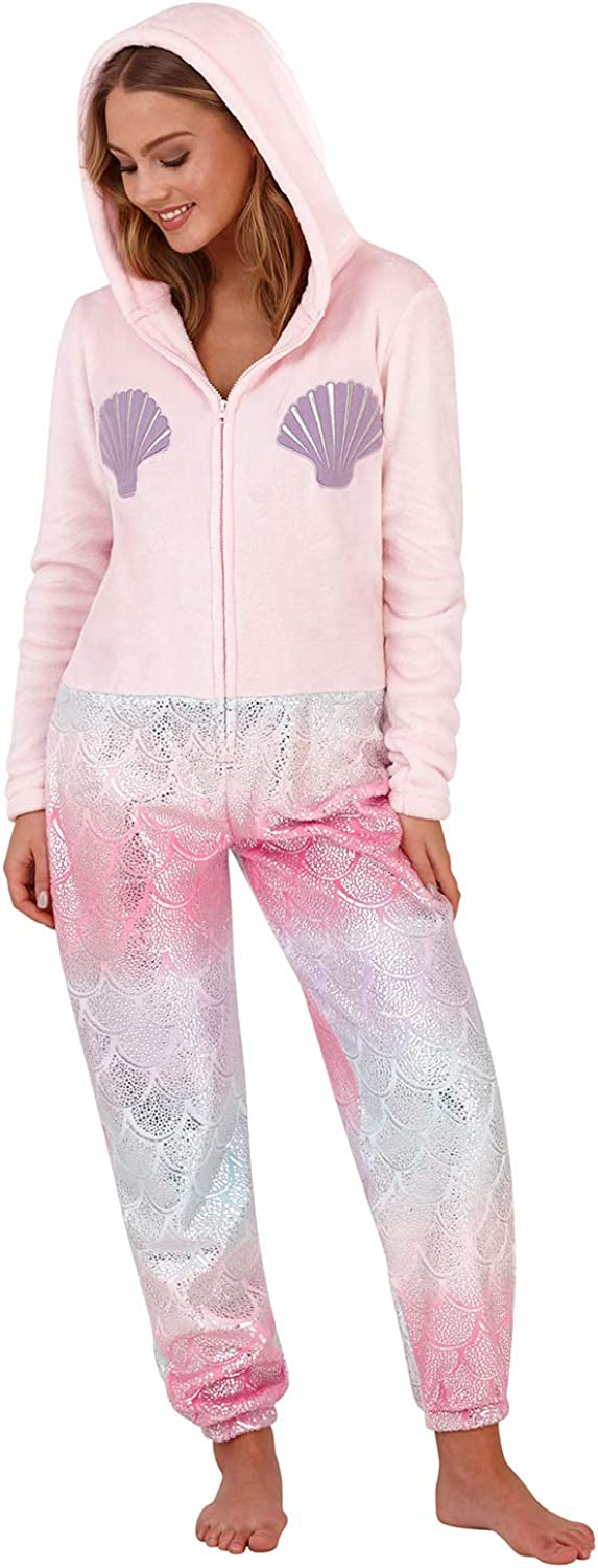 Loungeable Boutique Pijama Onesie con Orejas de Pijama: Amazon.es ...