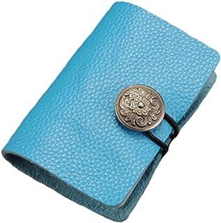 Retrostyle carte de crédit organisateur de la carte de support portefeuille, B Blancho Bedding