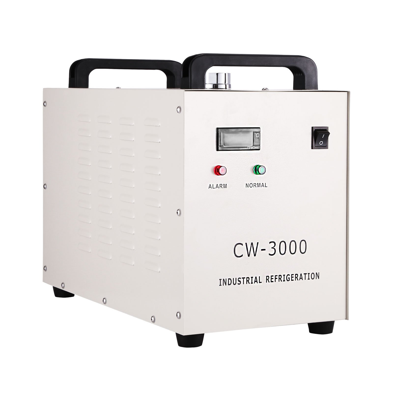 Mophorn Water Chiller 9L Capacity Industrial Water Chiller CW-3000DG Thermolysis Type Industrial Water Cooling Chiller for 60W 80W Laser Engraving Machine(CW-3000DG) by Mophorn