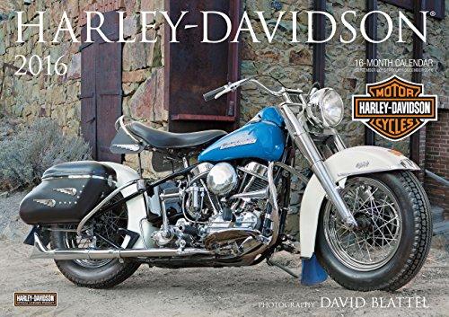 Harley-Davidson(R) 2016: 16-Month Calendar September 2015 through December 2016