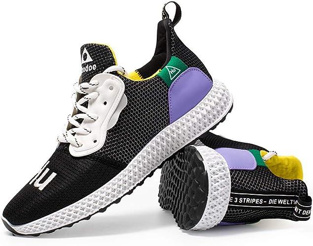 BMTH - Zapatillas de Running para Hombre, Negro (Negro), 42 EU ...