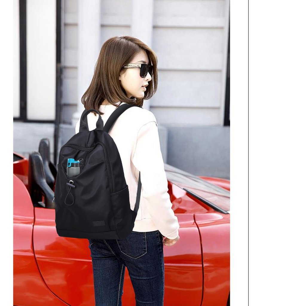 Shoulder Bag Men s Travel Bag Korean Fashion Trend Student Bag Nylon Canvas Waterproof Female Backpack