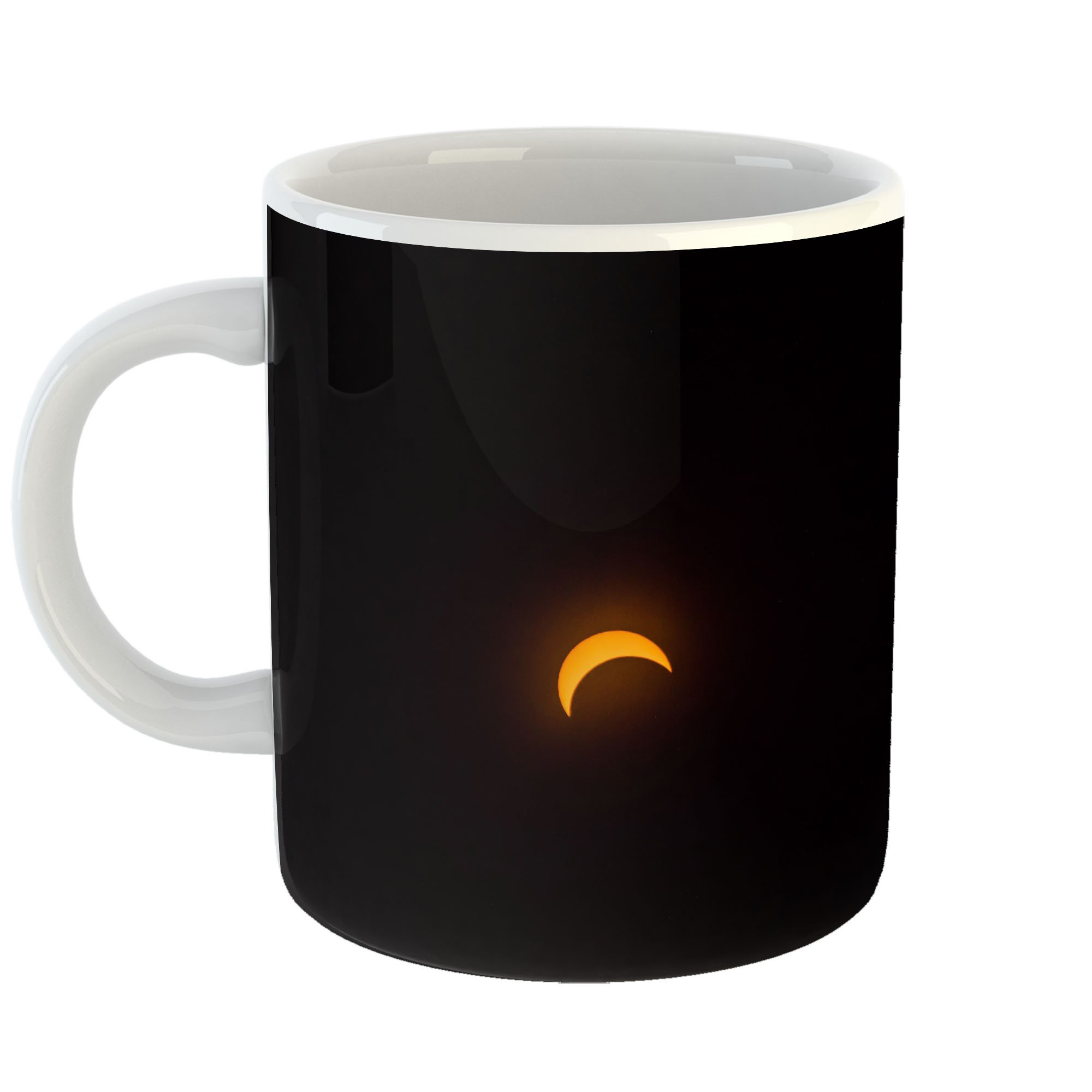 Westlake Art - Solar Crescent - 11oz Coffee Cup Mug - Modern Picture Photography Artwork Home Office Birthday Gift - 11 Ounce (4D40-3A85E)