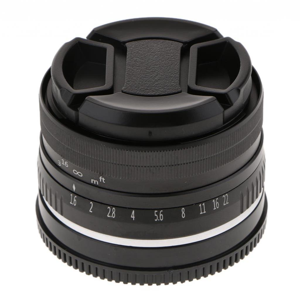 Homyl 32mm f/1.6 Large Aperture Manual Focus Lens APS-C for Sony E Mount Mirrorless Camera NEX 3 5 6 by Homyl (Image #4)