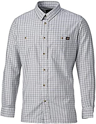 Camisa de hombre de estilo leñador Dickies, Multicolor, AG7510 BLG S: Amazon.es: Bricolaje y herramientas