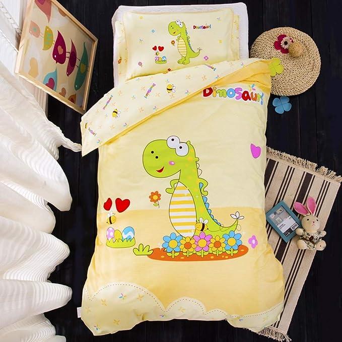 Dinosaure p/ère et fils Literie pour enfants 100/% coton housse de couette motif dessin anim/é mignon enfant//enfant en bas /âge//Housses de couette pour b/éb/é 120x150cm