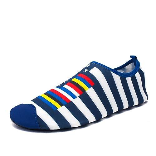 902a8b53f172 Z.SUO Men Women Kids and Toddler Quick-Dry Water Shoes Lightweight Aqua  Socks
