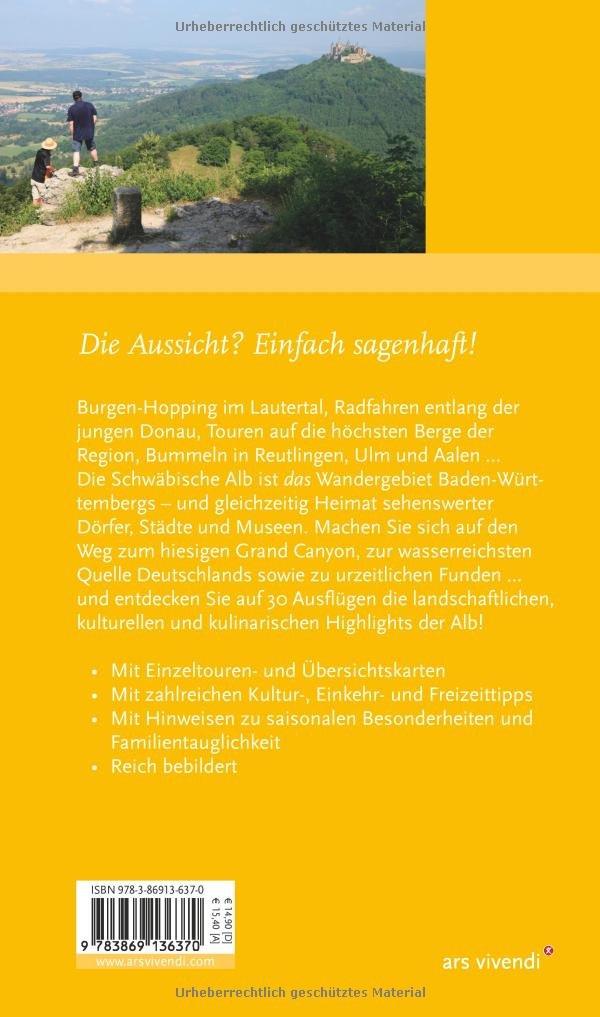 Schwäbische Alb Karte Städte.Reiseführer Der Ausflugs Verführer Schwäbische Alb Amazon De