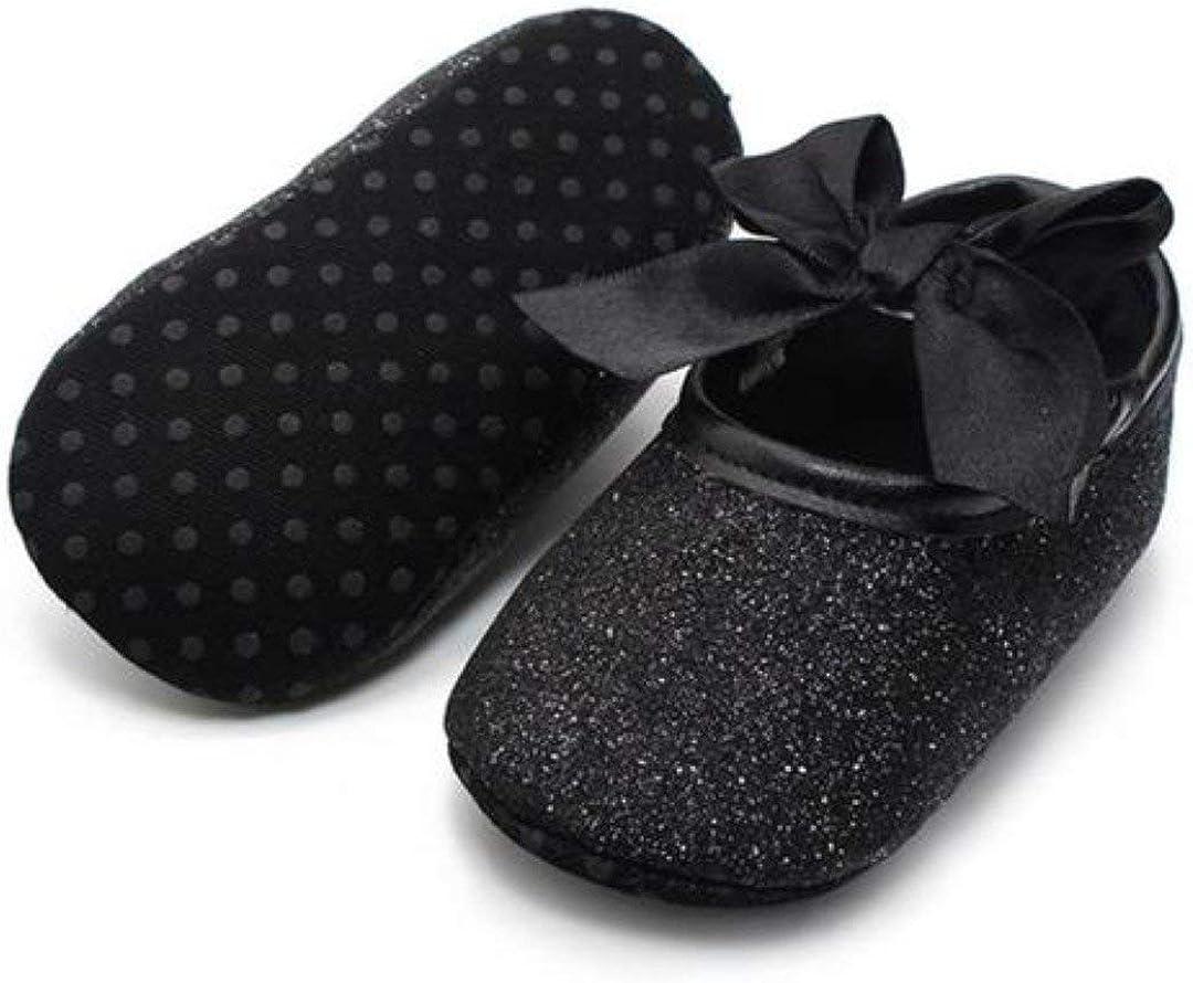 wanjares Baby Shoes First Walker Glitter Sneaker Anti-Slip