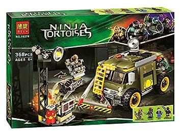 Amazon.com: TMNT tortugas Ninja conjunto tortuga Van ...