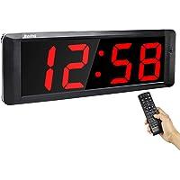 "Jhering Interval Gym Timer Stopwatch 4 ""Led Programmeerbare Tabata EMOM MMA Count Omhoog/Down Klok"