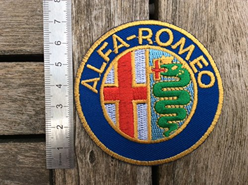 Toppe aufnaher toppa - ALFA ROMEO - thermocollant BLUE HAWAI