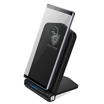Fast Qi Wireless Charger 10 W sin cable 7,5 W/10 W plegable ...