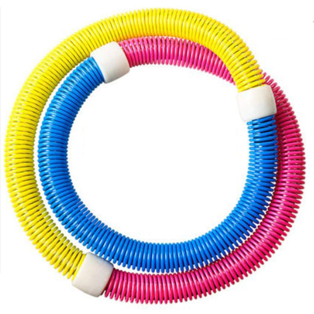 Multicolor2 1.55kg Spring Hula Hoop Skinny Waist Girl Weight Loss Circle Adult Soft Elastic Slimming Fitness Belly Soft Abdominal Pull Ring