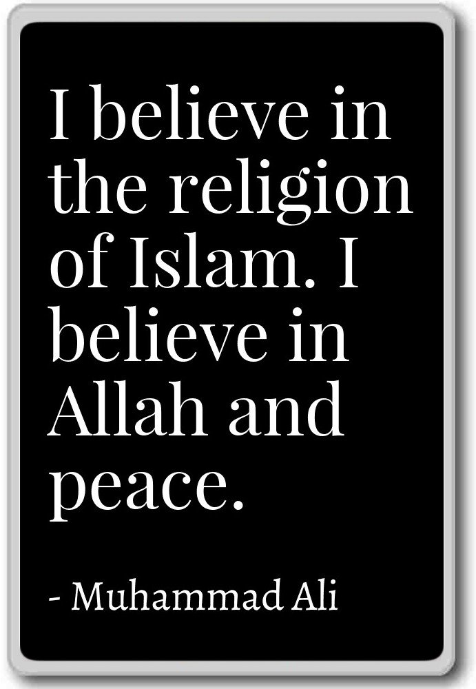 Amazon I Believe In The Religion Of Islam I Believe