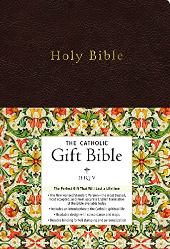 NRSV, The Catholic Gift Bible, Imitation Leather, Black: The Perfect Gift That Will Last a Lifetime ()