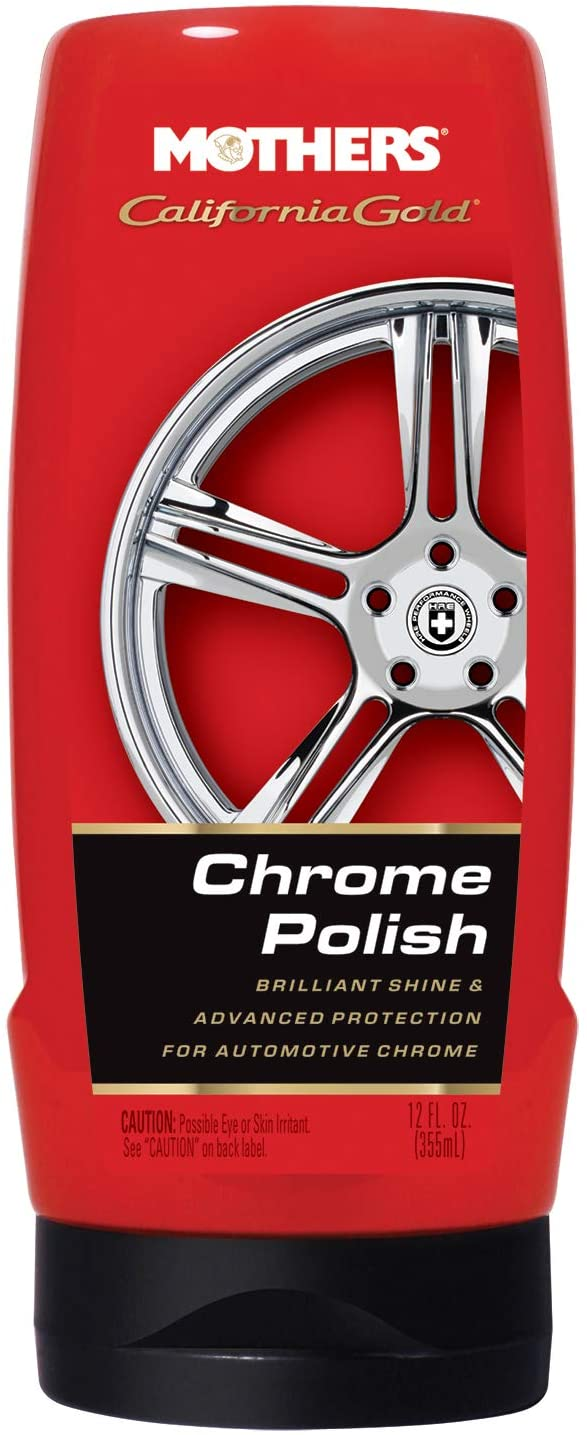 Mothers 05212 California Gold Chrome Polish