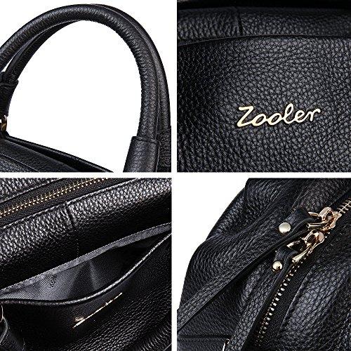 ZOOLER - Bolso de asas de Otra Piel para mujer negro