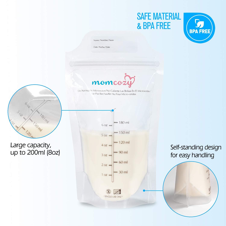 Amazon.com: Momcozy - Bolsas de almacenamiento para leche ...