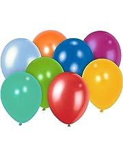 Playtastic Ballon: 100 bunte Luftballons (30 cm) Megapack (Luft-Ballon)