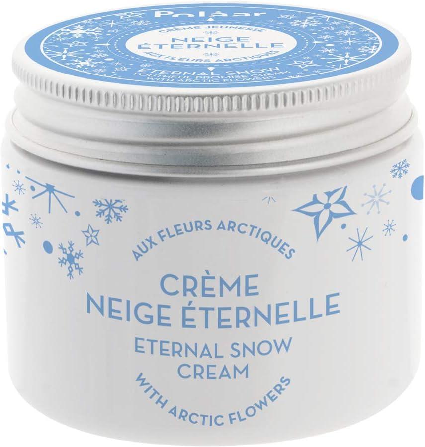 Polaar - Crema juvenil Nieves Perpetuas con flores árticas - 50 ml - Tratamiento facial antienvejecimiento - Reafirmante - Antiarrugas - Todo tipo de pieles, incluso sensibles - Activo natural: Amazon.es: Belleza