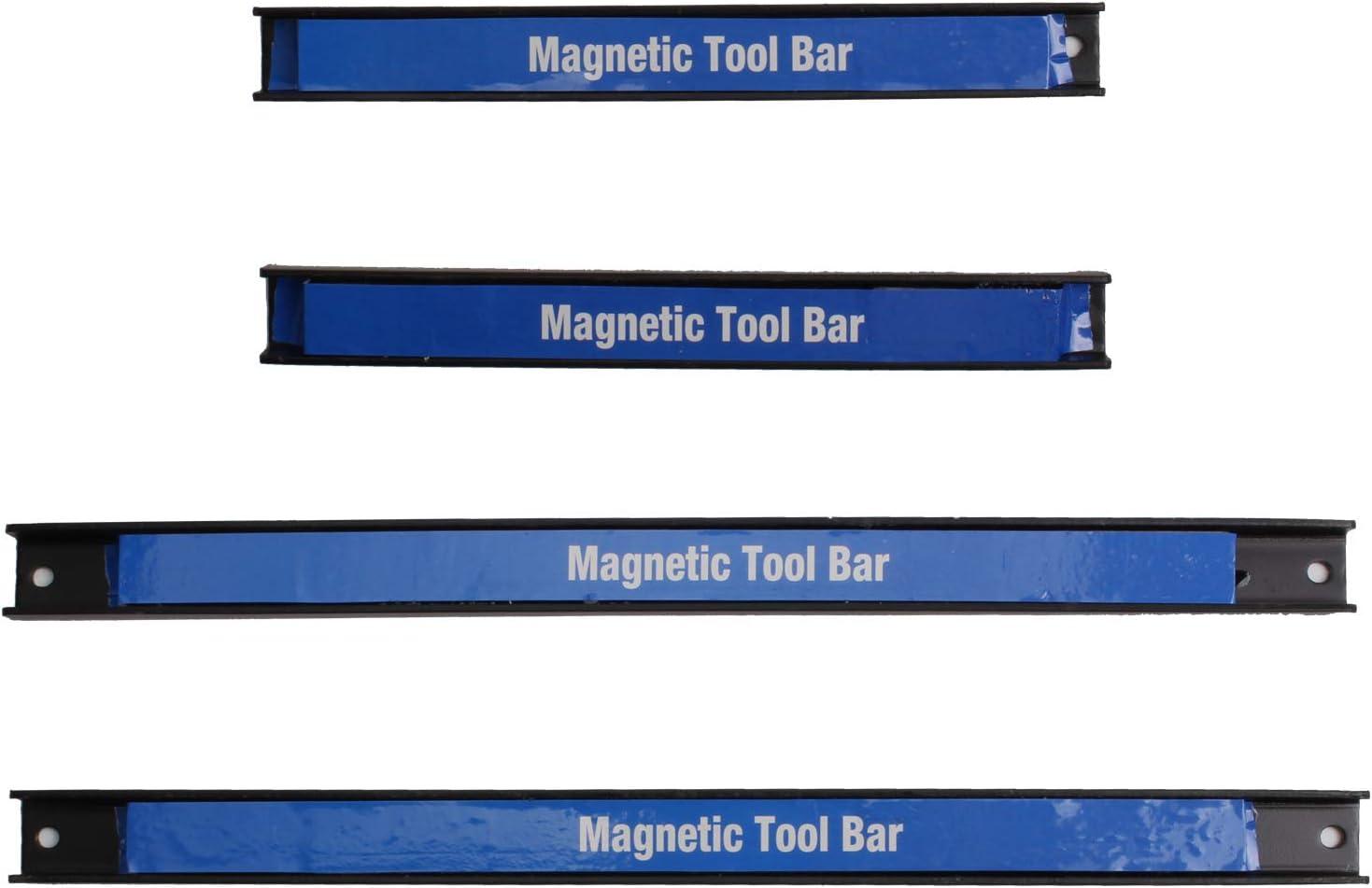 2 x 23 cm//37 cm CCLIFE 4x Magnetica portautensili salvaspazio /& Strong,a parete Aste magnetiche supporto per garage officina