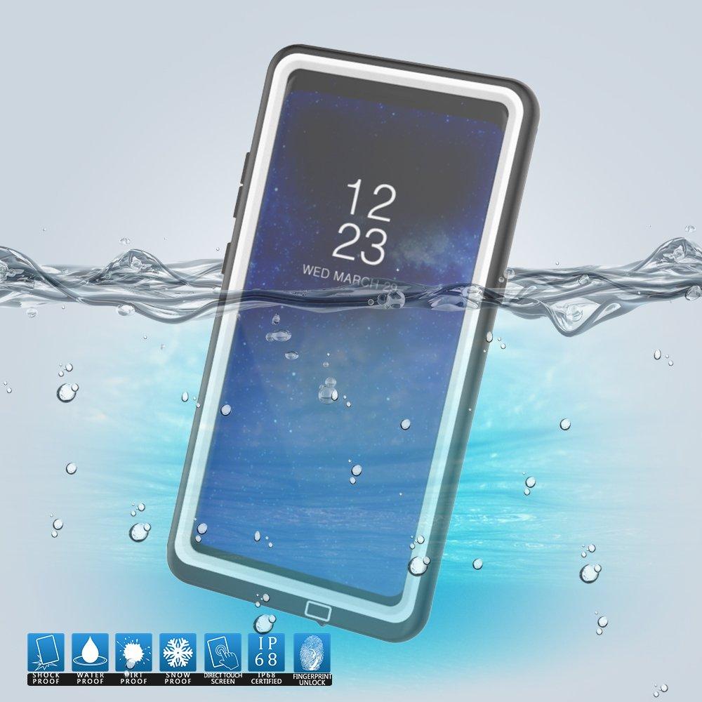 Cover Galaxy Note 8Custodia Impermeabile, IP68 Antiurto Waterproof Custodia Schermo Incorporato, Prova Caduta Robusta, Protezione Prova Polvere Case per attività Protezione Prova Polvere Case per attività adorehouse 3665-4Z-264