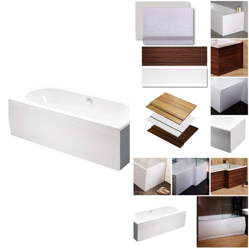 Bath Panel End Cover Flat White Acrylic Plastic 750 Better Bathrooms ...