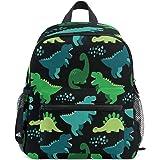 Cute Kids Toddler Backpack Dino Scandinavian Style Children Bag, Black (Black) - g6413269p204c238s338