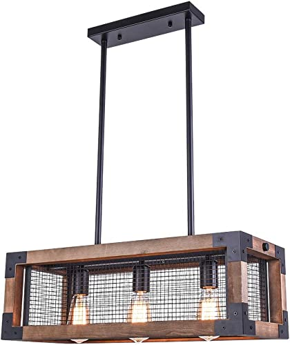 OYIPRO Industrial Kitchen Island Light