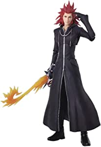 Kingdom Hearts III: Axel Bring Arts Action Figure, Multicolor