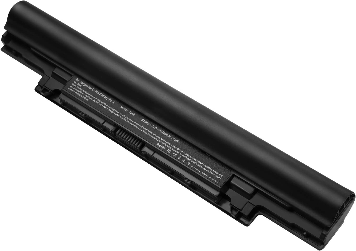 3340 Battery for Dell Latitude 3340 Battery, Dell V131 2nd generation, Fits 451-BBJB, 451-BBIY, 451-BBIZ 7WV3V, H4PJP, JR6XC, YFDF9, YFOF9, 5MTD8