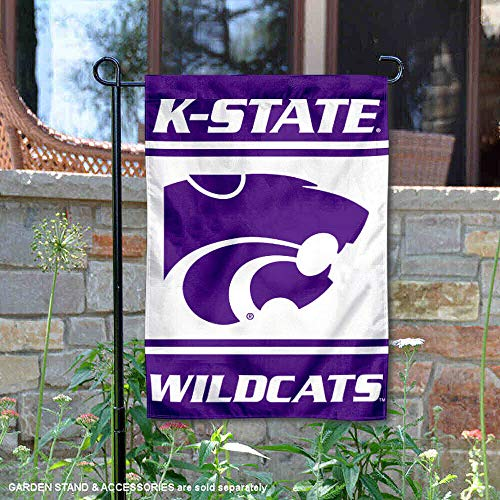 College Flags and Banners Co. Kansas State Wildcats Garden Flag