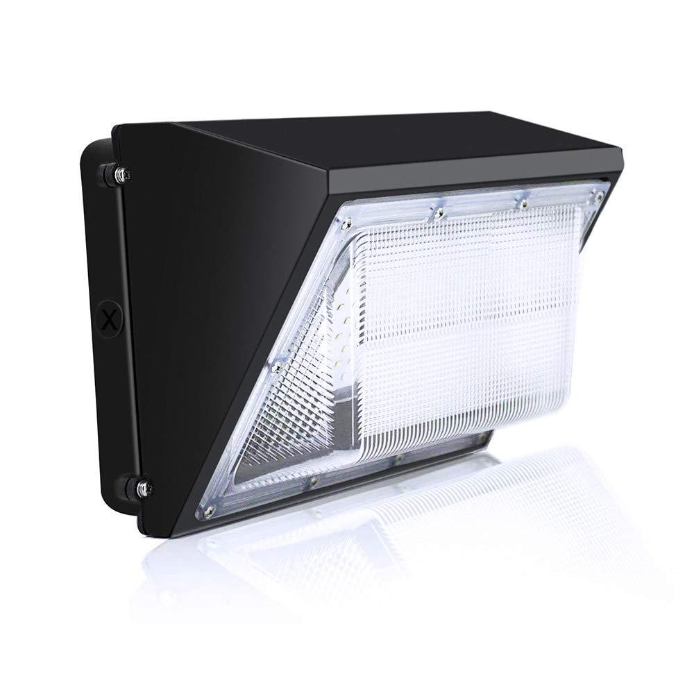 120W LED Wall Pack Light, 5000K Daylight Glow, 16000LM Super Birght Outdoor Waterproof Flood Light, 650 Watt HPS/HID Replacement, Commercial & Industrial Outdoor Lighting, 5 Years Warranty