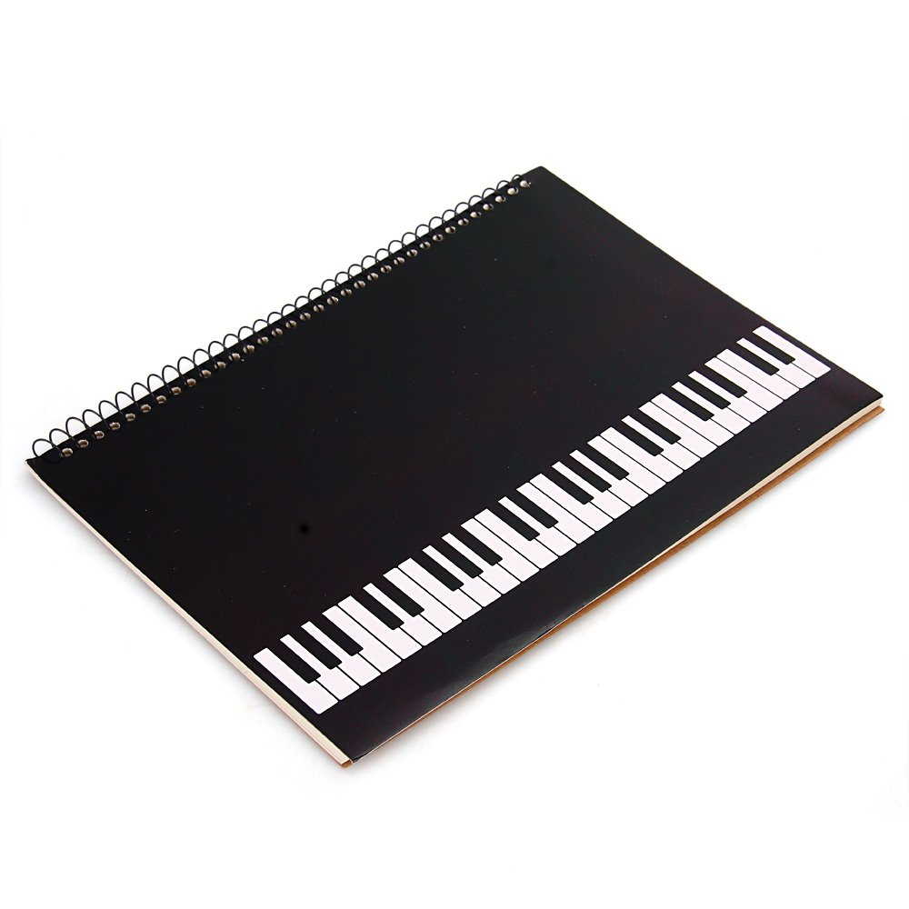 FACILLA/® spiral music notebook with music score sheets 40 pages