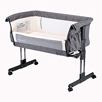 Mika Micky Bedside Sleeper Easy Folding Baby Crib