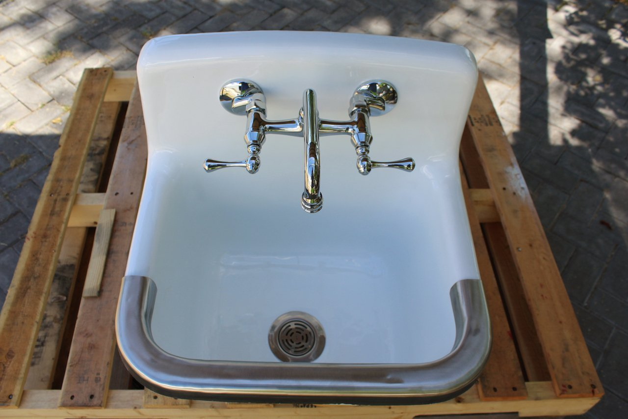 Amazon.com: Vintage Style Utility Sink Deep Basin Dead Stock Cast ...