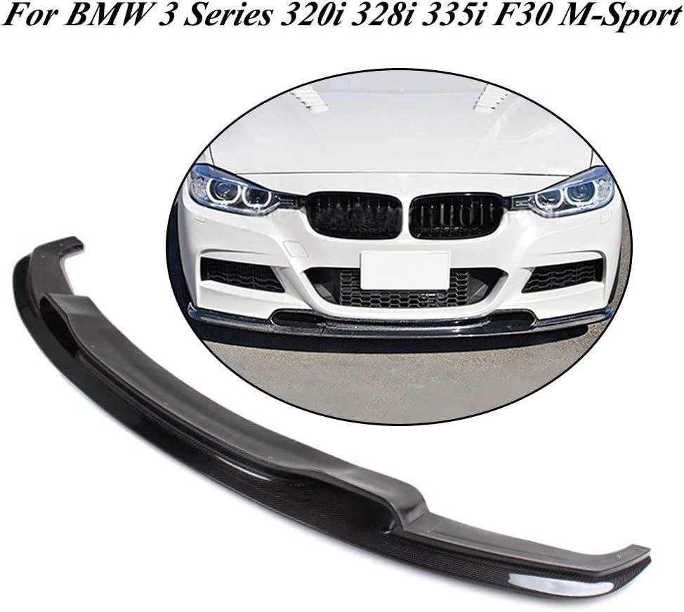 jcsportline Fits for BMW 3 Series F30 Faux Carbon Fiber Side Air Vent Covers Fender Marker Sticker Trim 2012-2018
