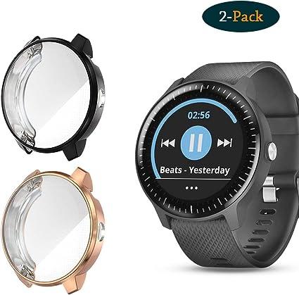 Cerike Funda para Garmin vivoactive 3 Music Reloj Protector de ...