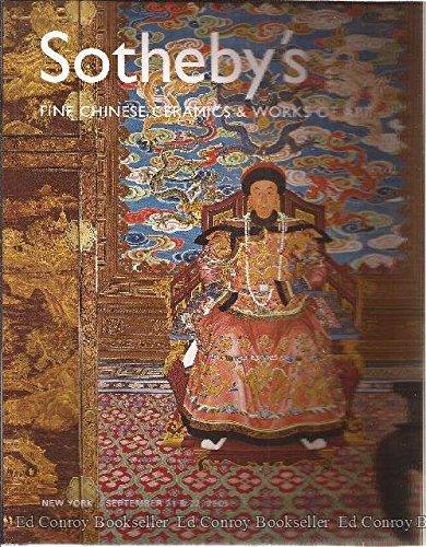 (Fine Chinese Ceramics & Works of Art New York, Wednesday & Thursday, September 21 & 22,)