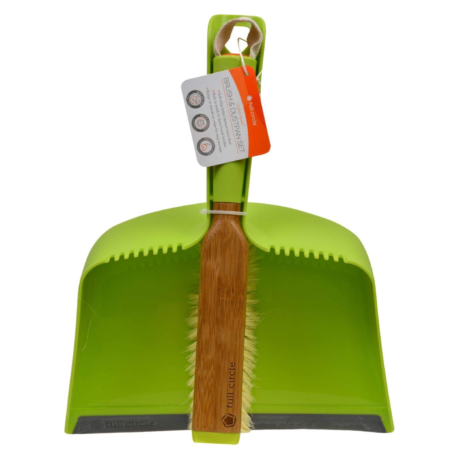 2 Pack of Full Circle Clean Team brush and dustpan set by Full Circle Home (Image #1)