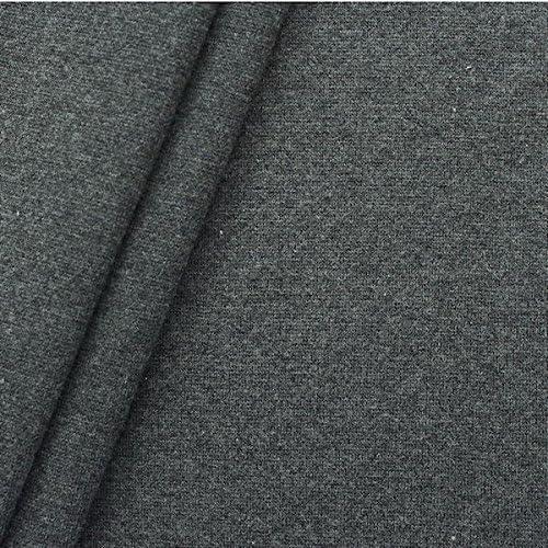 De algodón con diseño de puños de tela lisa de colour marrón ...