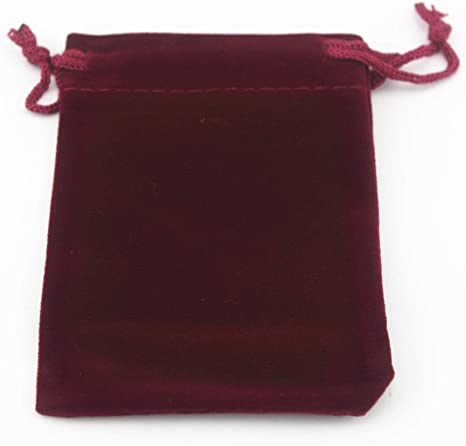 10 25 50 100 Black Velvet Bags Jewelry Drawstring Gifts Pouches  Wedding Favor