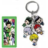 Hunter X Hunter Key chain Metal Figures Pendants with Key Ring