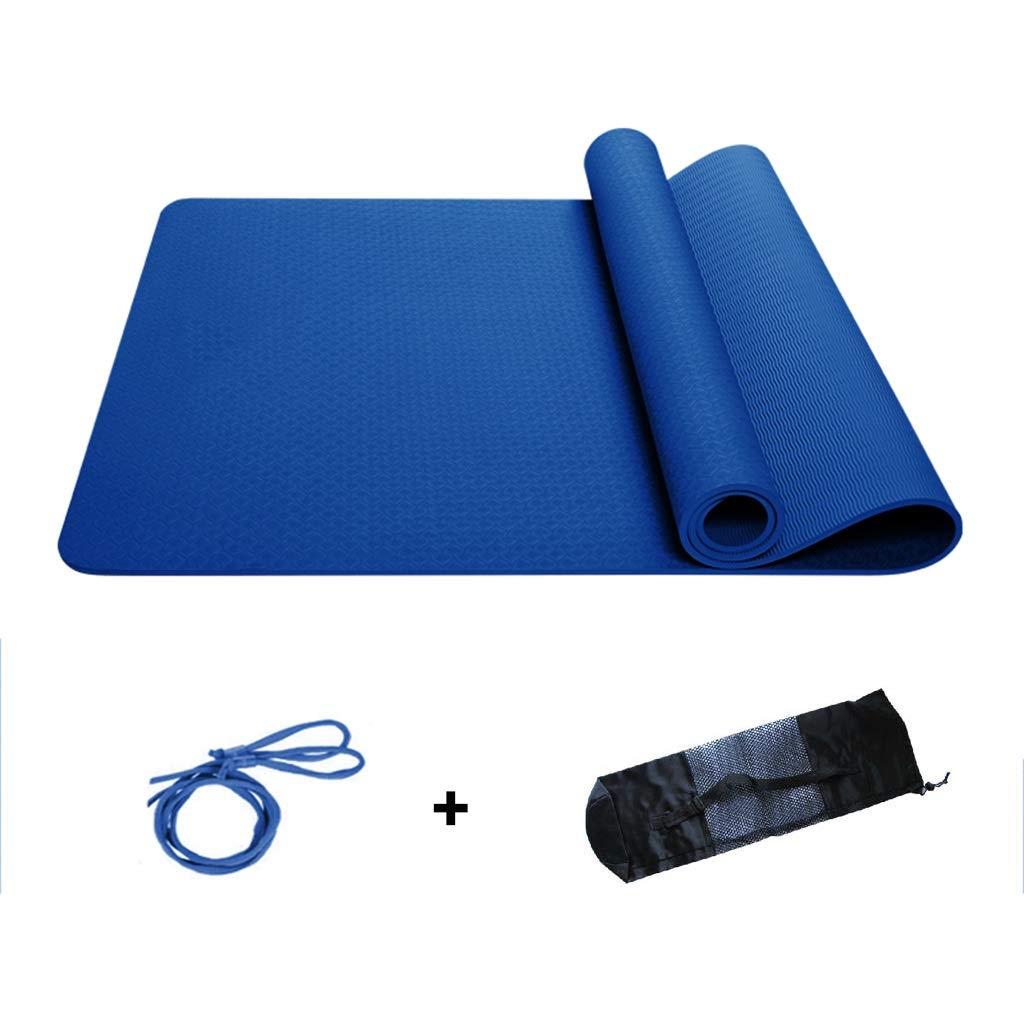 TPE Protección del Medio Ambiente Yoga Mat Antideslizante ...