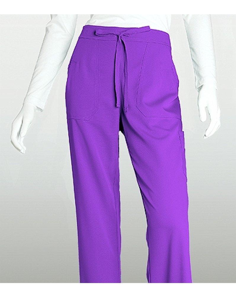 Grey's Anatomy™ Women's 4-Pocket Elastic Back Solid Scrub Pant XX-Small Prism