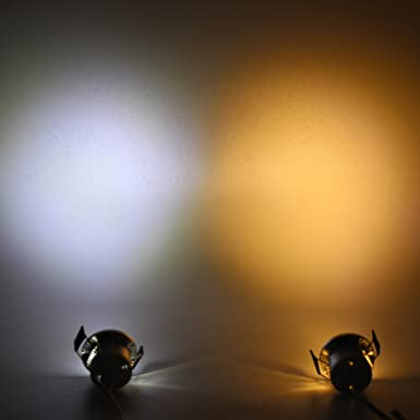 amazon lediary 12 v led下キャビネットライトsilvery recessed